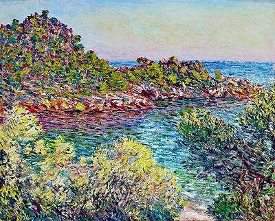 Claude Monet Landscape canvas print giclee 8X12&12X17 reproduction painting
