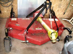 Bush Hog Finish Mower 60 Quot Ebay