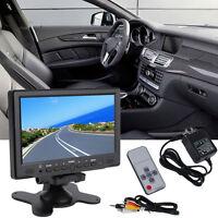 7inch 800x 480 Tft Color Lcd Av Vehicle Car Rearview Monitor Hdmi Vga Zd