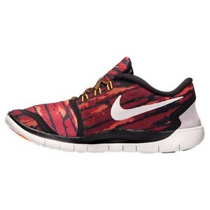 9a1ac13d3eee NEW Junior NIKE FREE 5.0 PRINT Running Trainers Shoes 749681 - 001 ...
