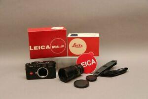 Leica M4 P in OVP mit Summicron - M 1:2/90 in OVP - mit Anleitungen