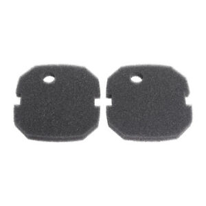 Fish & Aquariums Filters 2 X Compatible Black Fine Foam Filter For Aquaone Aquis 1200/1250 And 1000/1050 An Enriches And Nutrient For The Liver And Kidney