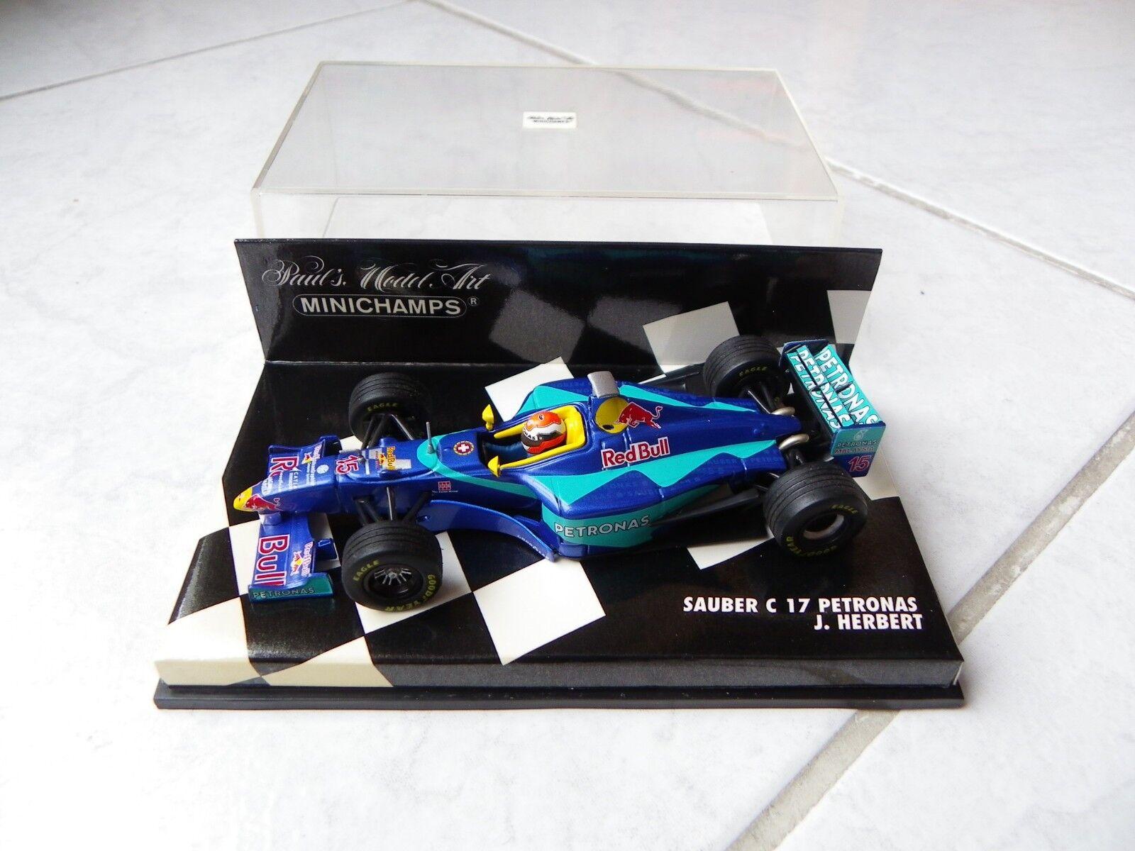 Sauber Petronas C17 Johnny Herbert Minichamps 1 43 1998 F1 Formula 1
