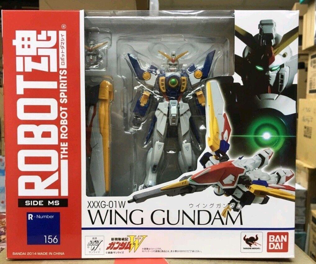 ROBOT Spirits Soul R-156 Wing Gundam XXXG-01W TAMASHII BANDAI SDIE MS 156