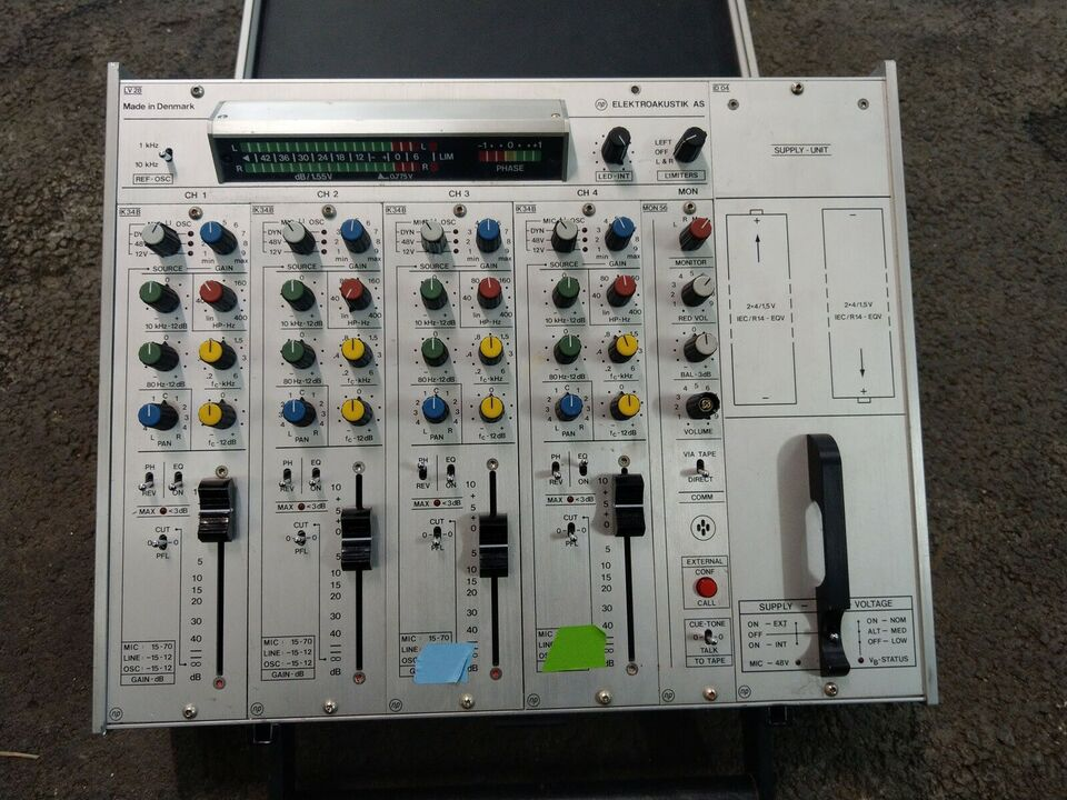 Lydmixer, NP Elektroakustik Lv28