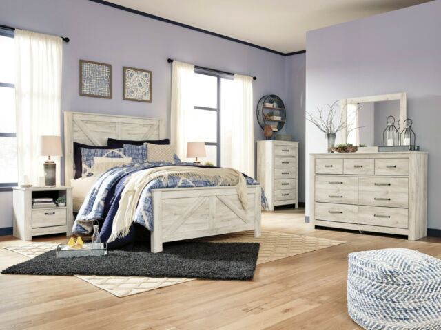 Ashley Furniture Bellaby 6 Piece Queen Bedroom Set for sale online ...