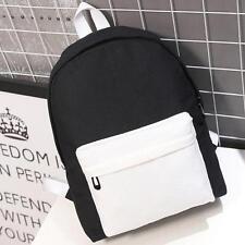 Women's Backpack Girl School Shoulder Bag Rucksack Canvas Travel Bag V1 C