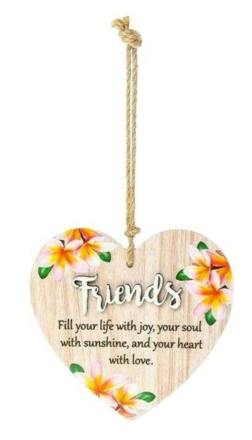 Auntie is someone who has smiles to share colourful heart plaque gift 283766