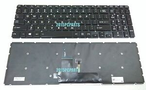 Original New Laptop Replacement Backlit Keyboard for Toshiba Satellite L50W-C L55W-C US Layout Black Color