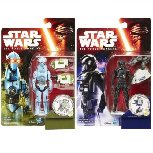 HASBRO Star Wars figure personaggio 1 o 2 personaggi di The Force Awakens NUOVO OVP