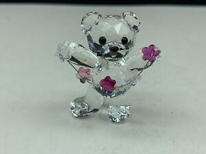 Swarovski-Figur-5076626-Kris-Bar-Blumen-fur-Dich-4-cm-Top-Zustand