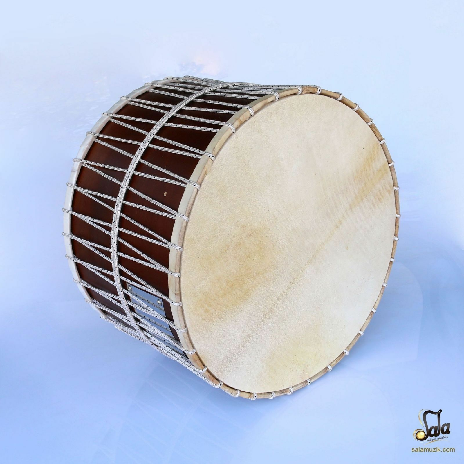 Turkish High Quality Davul Percussion Walnut Drum ED-102