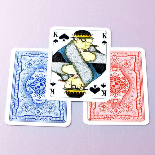 10 LORIOT Karten Spiele Romme Skat Doppelkopf Canasta Bridge MauMau Frobis