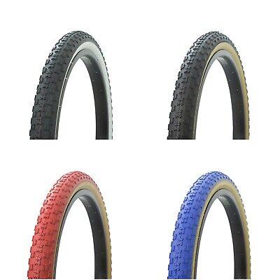 "NEW Bicycle Tire 20/"" x 2.125/"" Muscle Style Chopper Lowrider Beach Cruiser Bike"