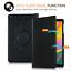 Custodia-per-Apple-iPad-12-9-3rd-Gen-Pro-amp-11-034-Pelle-360-Pro-ROTAZIONE-SMART-COVER miniatura 3