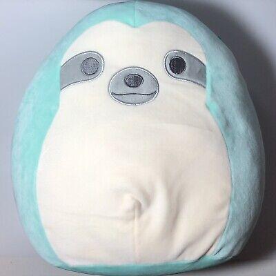 "Squishmallow Aqua the teal Sloth 20/"" XXXL Huge NWT Plush Toy Kelly Toy RARE HTF"