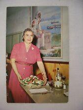 VINTAGE PHOTO POSTCARD LOUIS PAPPA'S FAMOUS RIVERSIDE CAFE, TARPON SPRINGS, FL
