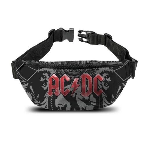Rocksax robuste Gürteltasche von AC//DC Bauchtasche Tasche Perfekt für FESTIVALS
