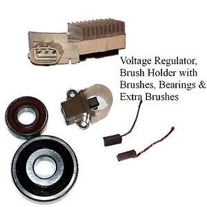 Details about Alternator Rebuild Kit 93-95 Supra without Turbo Regulator,  Bearings, Brushes