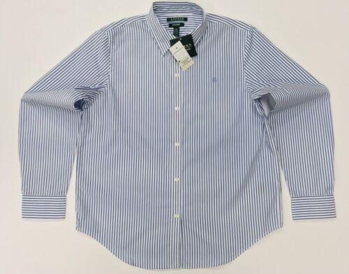 In Blue L Women's Non Stripe Light Lauren Ralph Size Shirt By Iron zP0qP