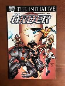 The-Order-1-2007-9-2-NM-Marvel-Key-Issue-Variant-Comic-Book-Initiative