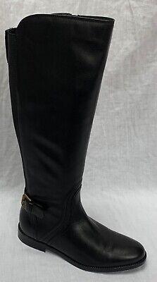 BNIB Clarks Ladies Orinoco Jazz Black Warmlined Leather Knee High Boots