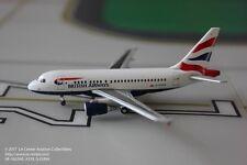 Herpa Wings British Airways Airbus A318 Union Jack Diecast Model 1:400
