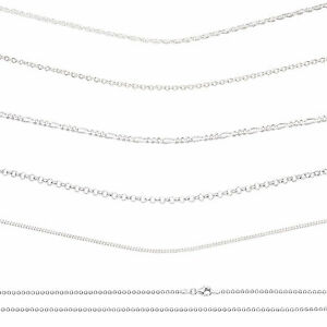 silvadore 925 sterling silver necklaces chains real