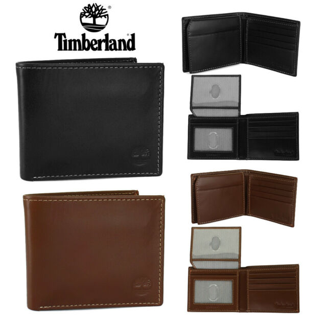 Leather Passcase Billfold Wallet