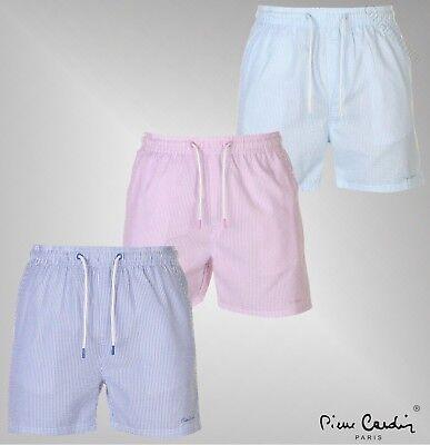 Pierre Cardin Mens Stripe Swim Shorts