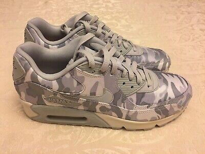 Nike Air Max 90 CSE Winter Camo Womens AQ9721 001 Platinum Grey Shoes Size 10 886691507710 | eBay