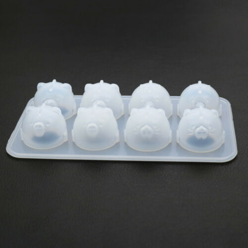Crystal Epoxy Chick Bear Jewelry Pendant Silicone Mold DIY Craft Making Supplies