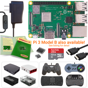 NEW-LOW-PRICES-Raspberry-Pi-3-Model-B-Plus-Starter-Complete-amp-Ultimate-Kits