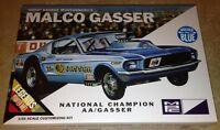 Mpc Ohio George Malco Gasser 1967 Mustang 1/25 Plastic Model Car Kit B 804