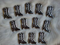 1 Dz Silver Cowboy Boot Nail Head Studs 3/4 Tall Great For Crafts Brand