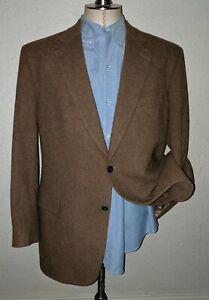 Details zu 44L Pure Kamel Haar Taupe Tweed Jacke Blazer Haarig Sport Mantel Plüsch Hoch