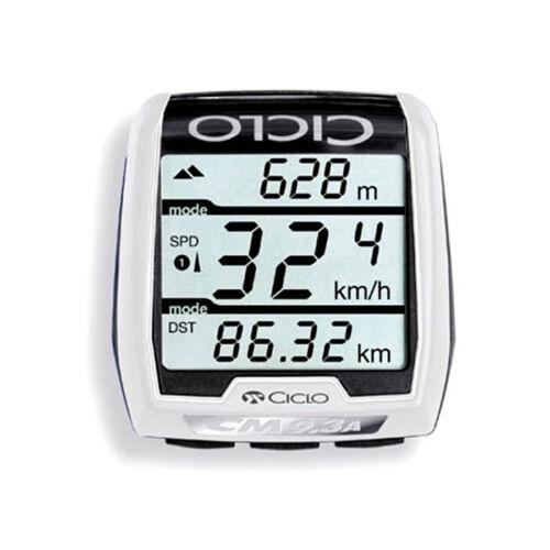 CICLOSPORT Ordinateur de vélo CM 9.3 a plus sans fil radio-vélo Compteur de vitesse en hauteur couteau