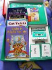 HOOKED ON PHONICS Learn to Read LEVEL 4 Set Books Cards Tapes NEW UNUSED