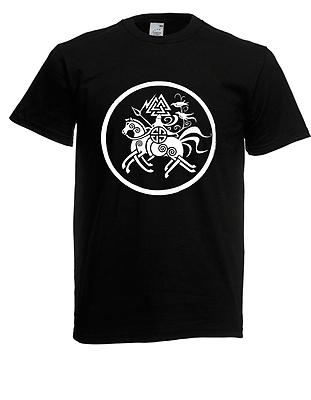 Der GüNstigste Preis Herren T-shirt Sleipnir - Runen Bis 5xl FöRderung Der Produktion Von KöRperflüSsigkeit Und Speichel