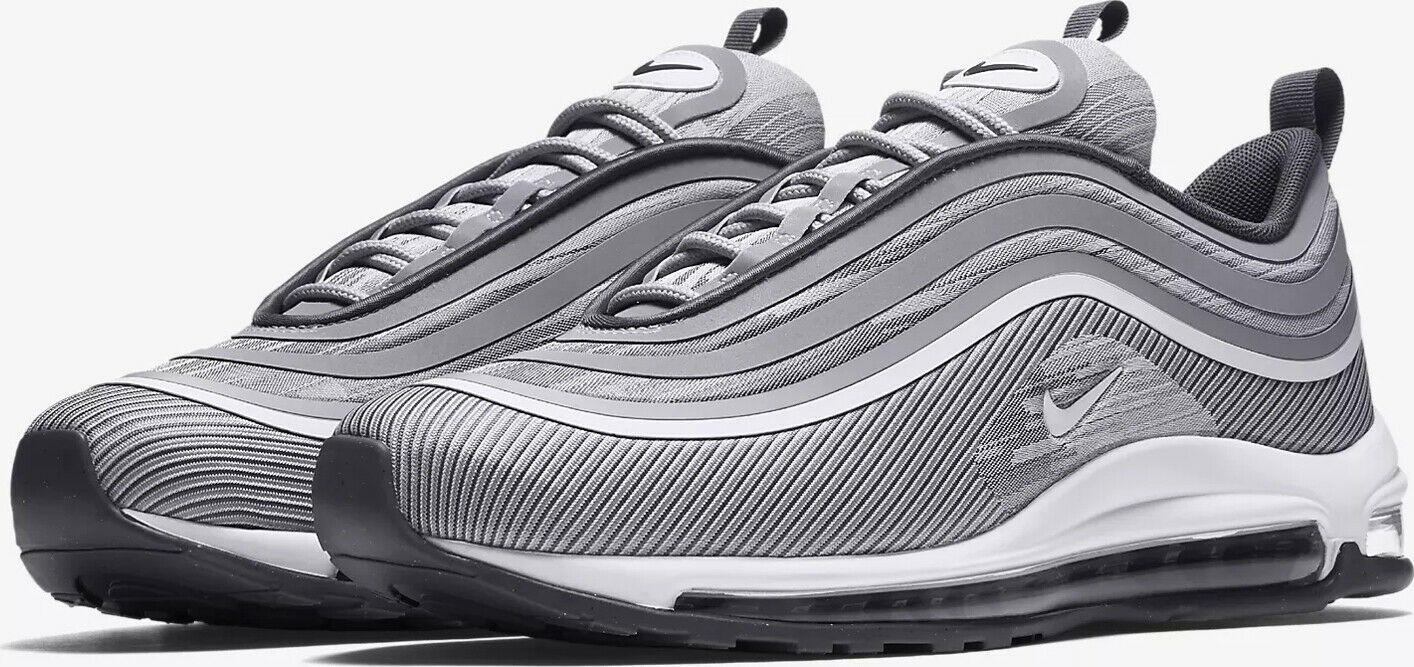 Mens Nike Air Max 97 97 97 Ultra '17 918356 007 Platinum grau 0c6ce1