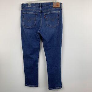 Levi-039-s-Womens-Jeans-Blue-Boyfriend-Fit-Ankle-Size-31