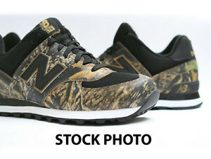 on sale 3a267 0c6b0 Details about NEW BALANCE 574 LIMITED EDITION CAMOUFLAGE CAMO DUCK SHOES  SIZE 13