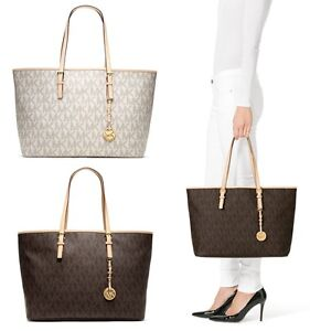 New Authentic Michael Kors Jet Set Multifunction