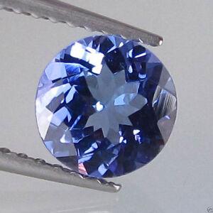 RARE-4mm-ROUND-FACET-STUNNING-PURPLE-BLUE-NATURAL-TANZANITE-GEMSTONE
