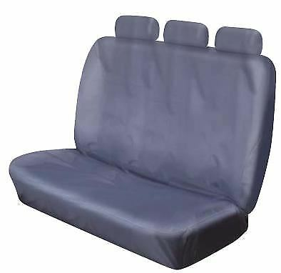 Triple Bench Car Seat Cover Grey
