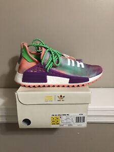 7a7438d857ec5 adidas x pharrell williams hu holi nmd Size 9 DS Coral Human Race