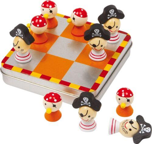 Tic Tac Toe Piraten kleines  Reisespiel magnetisch