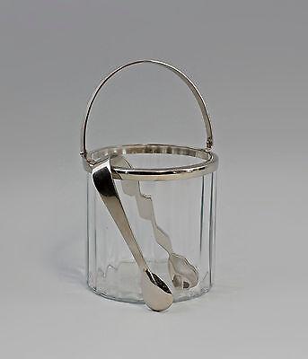 Kristall Ernst Eiseimer-set Glas Geschliffen Vernickelt Silberfarben 9977395