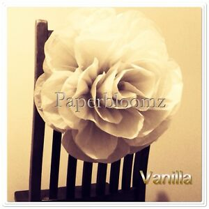 Details About Paperbloomz Large Paper Roses Tissue Paper Flowers Wall Decorations