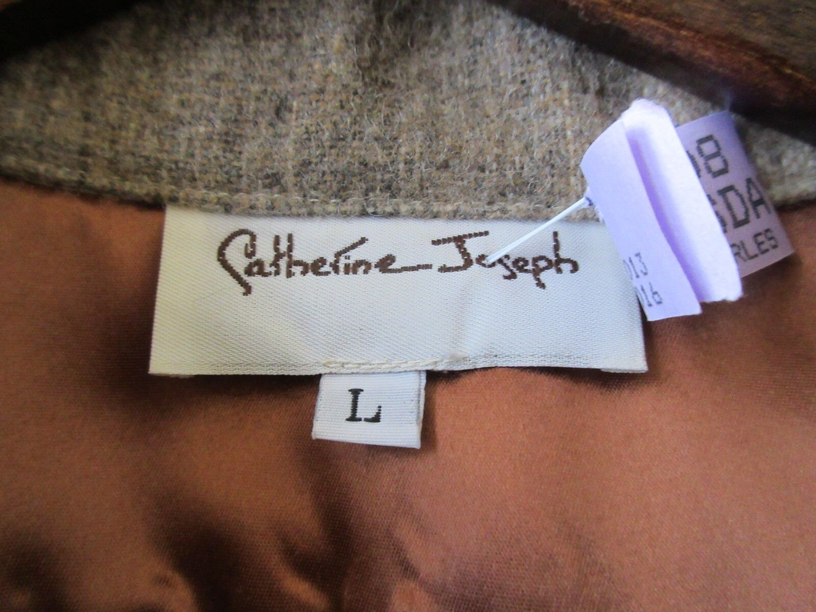 Catherine Joseph ,N.Y,Men's Shirt Jacket ,Vintage ,Uniq
